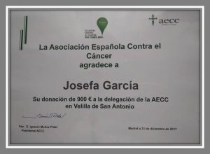 Mi aportación a la AECC